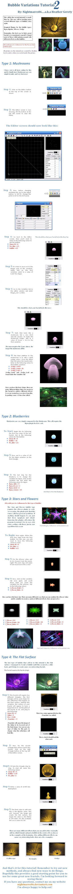 Bubble Variation Tutorial 2