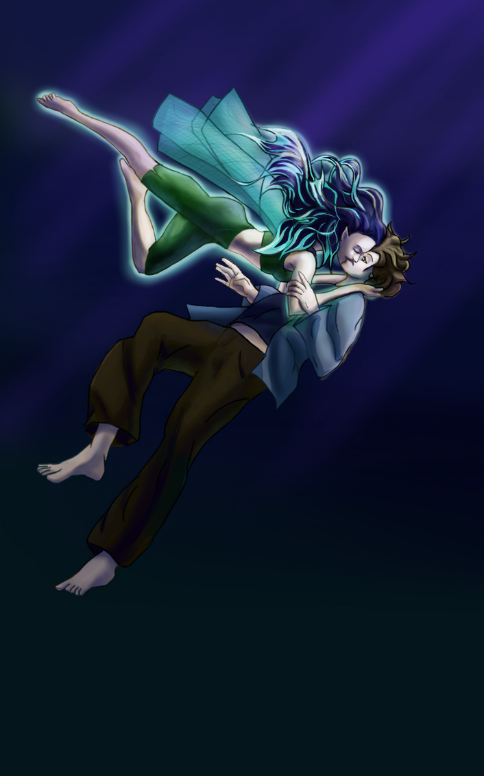 Nixie and Sam by nightmares06