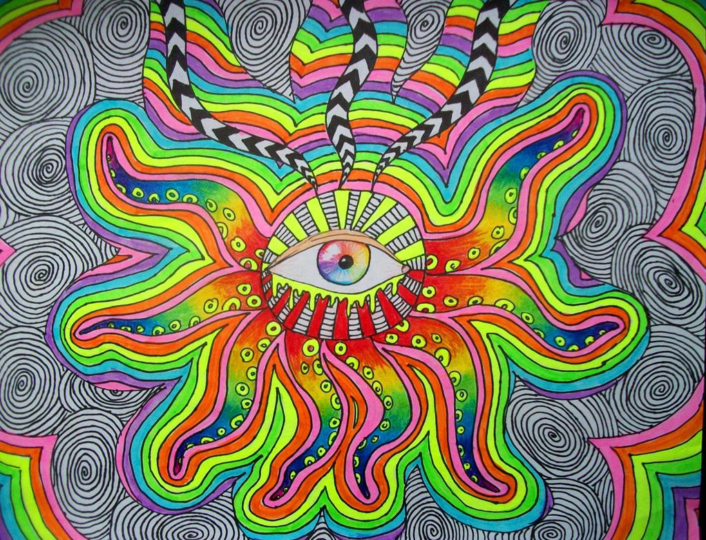 All Seeing Eye Trippy