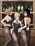 Hitch-Annie-Mikasa Bunnies