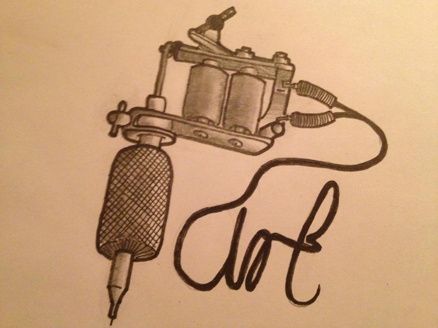 Tattoo Machine by CharlieKay on DeviantArt
