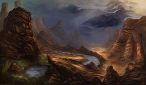 Forsaken Wastelands by Razowi