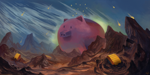 Reign of Pigs by Razowi