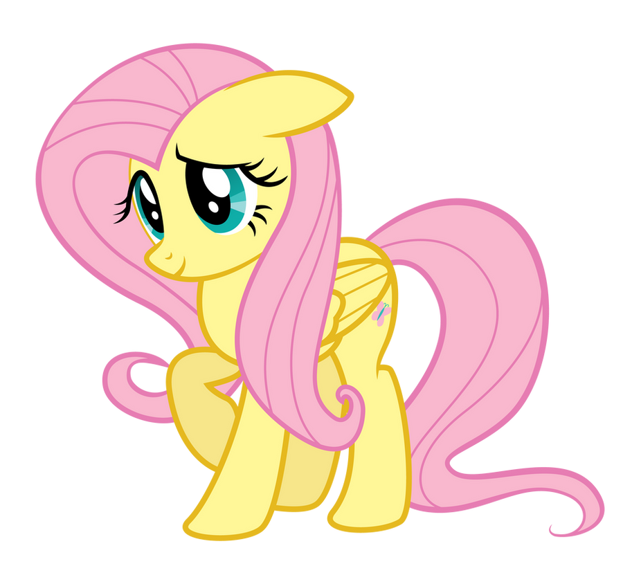 Fluttershy being cute. by Dharthez