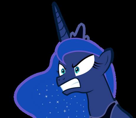 Princess Luna is pissed.