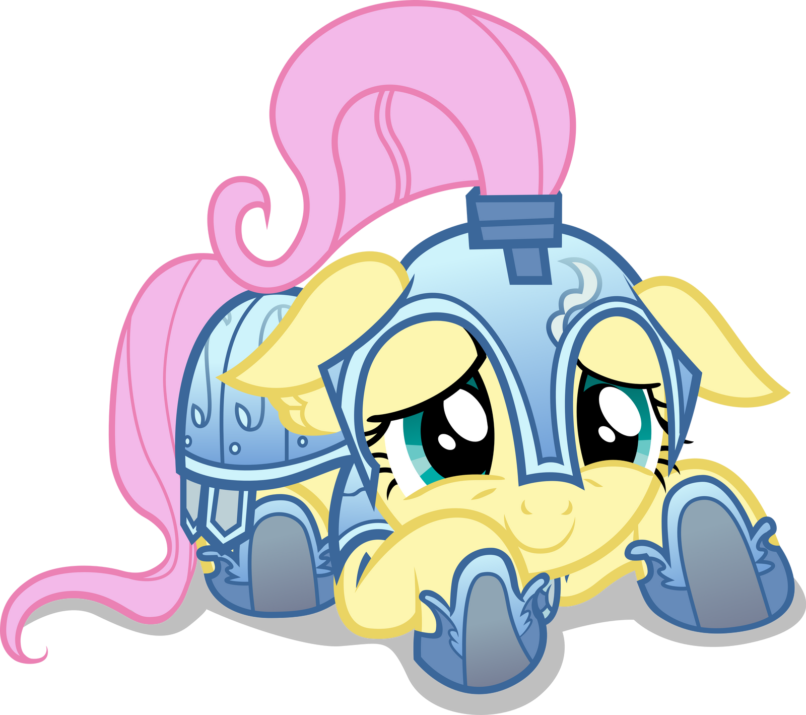 Cute, little GladiatorShy by Dharthez