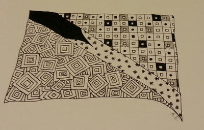 Zentangle Made my day by moonworld