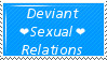 Deviant Sexual Relations by BloodAppleKiss