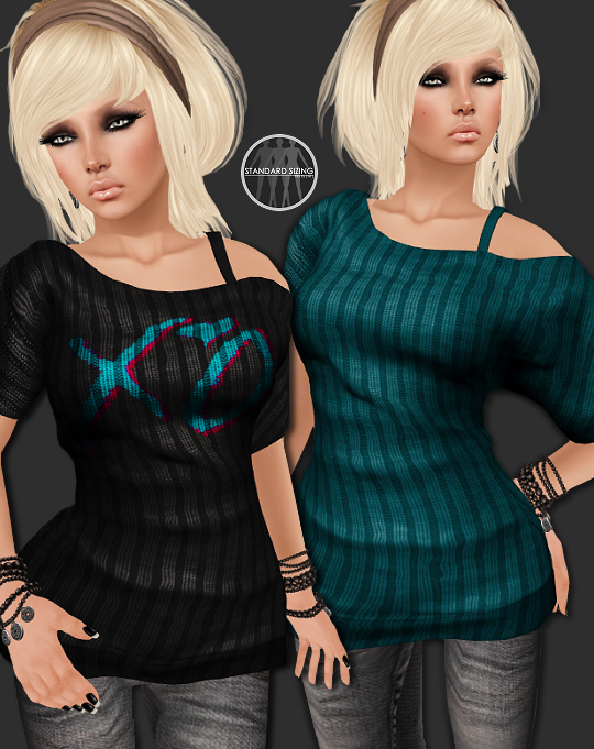 AngelRED Couture - Mesh Hannah Top