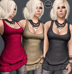 AngelRED Couture - Mesh Akira Top