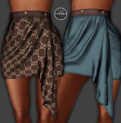 AngelRED Couture - Mesh Kim Skirt