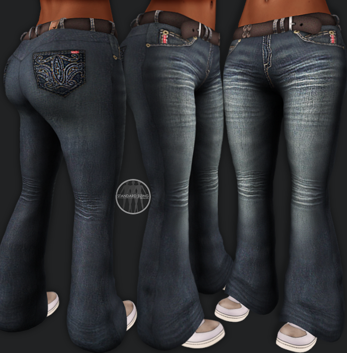 AngelRED Couture - Mesh Tihary Jeans