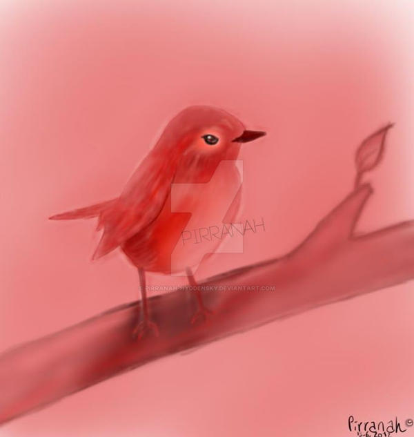 Red bird - 2012 by Pirranah-HyddenSky