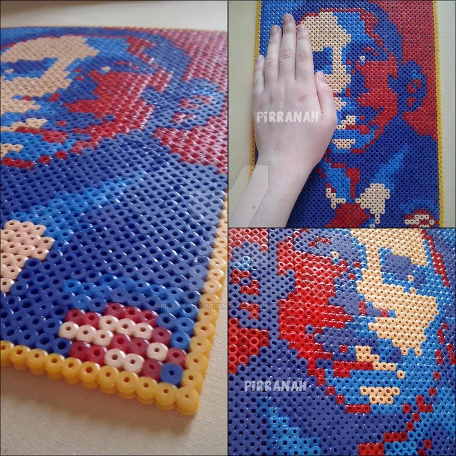 Barack Obama perler by Pirranah-HyddenSky