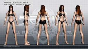 Female Character WIP2