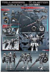 TALLGEESE X custom: OZ-00MS2X by jerix