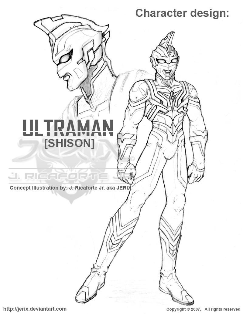 ULTRAMAN Shison Concept by jerix