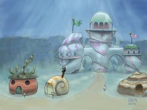 Mercy and MiMi's Underwater Castle (Concept Art)