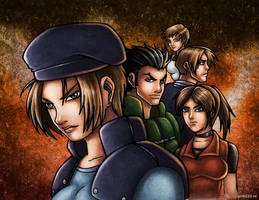 RESIDENT EVIL S.T.A.R.S. by GONZZO