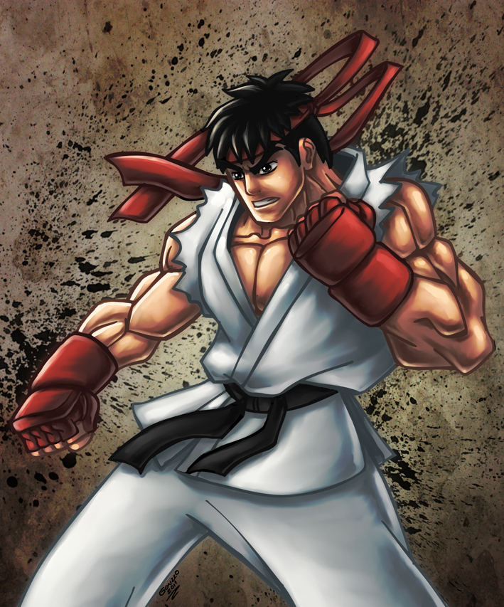 Street Fighter - RYU by GONZZO