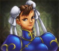 Street Fighter - Chun Li by GONZZO