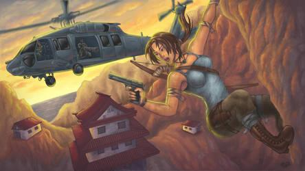 Tomb Raider Reborn contest by GONZZO