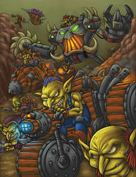 WOW - World of Warcraft Tribute (Udon - Blizzard) by GONZZO