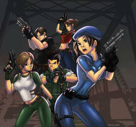 Resident evil by GONZZO