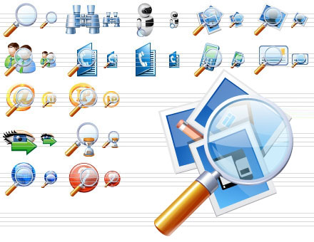 Search Icon Library by richardkingempire