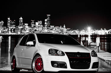 Volkswagen MkV GTI stuntin by OEMminus