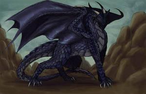 Blue Dragon by raerae