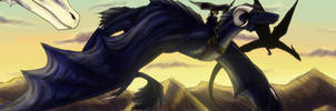 Dragonflight by raerae