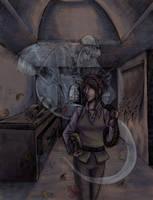 Ghostly by raerae
