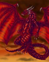 Plate-armor Dragon by raerae