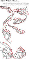 Angel Wing Tutorial - Angles