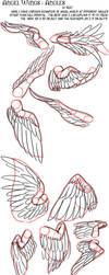 Angel Wing Tutorial - Angles by raerae