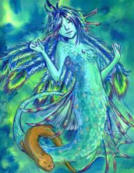 Peacock Mermaid
