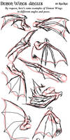Demon Wings - Angles
