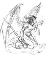 Dragon Mage by raerae
