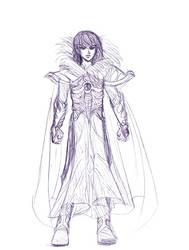 Taro - Sketch by raerae
