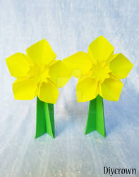 Origami Daffodils by Artcrown