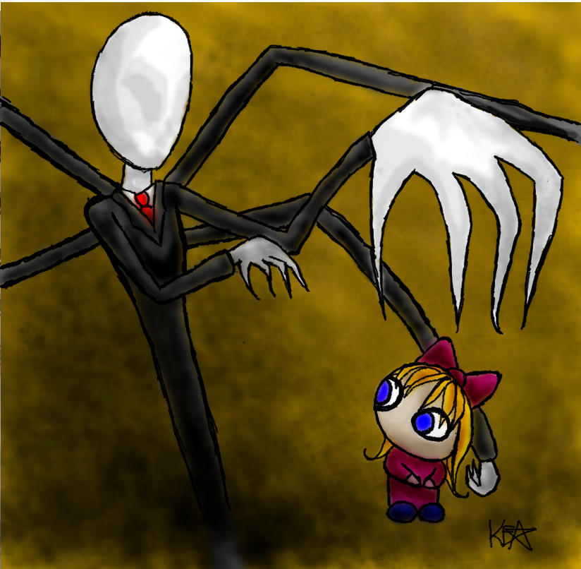 Slender Man is Coming for YOU by cartunegirl56