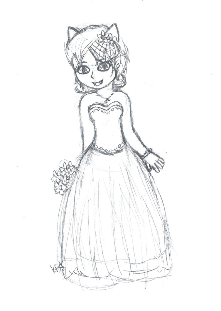 Wedding Dresses Sketch