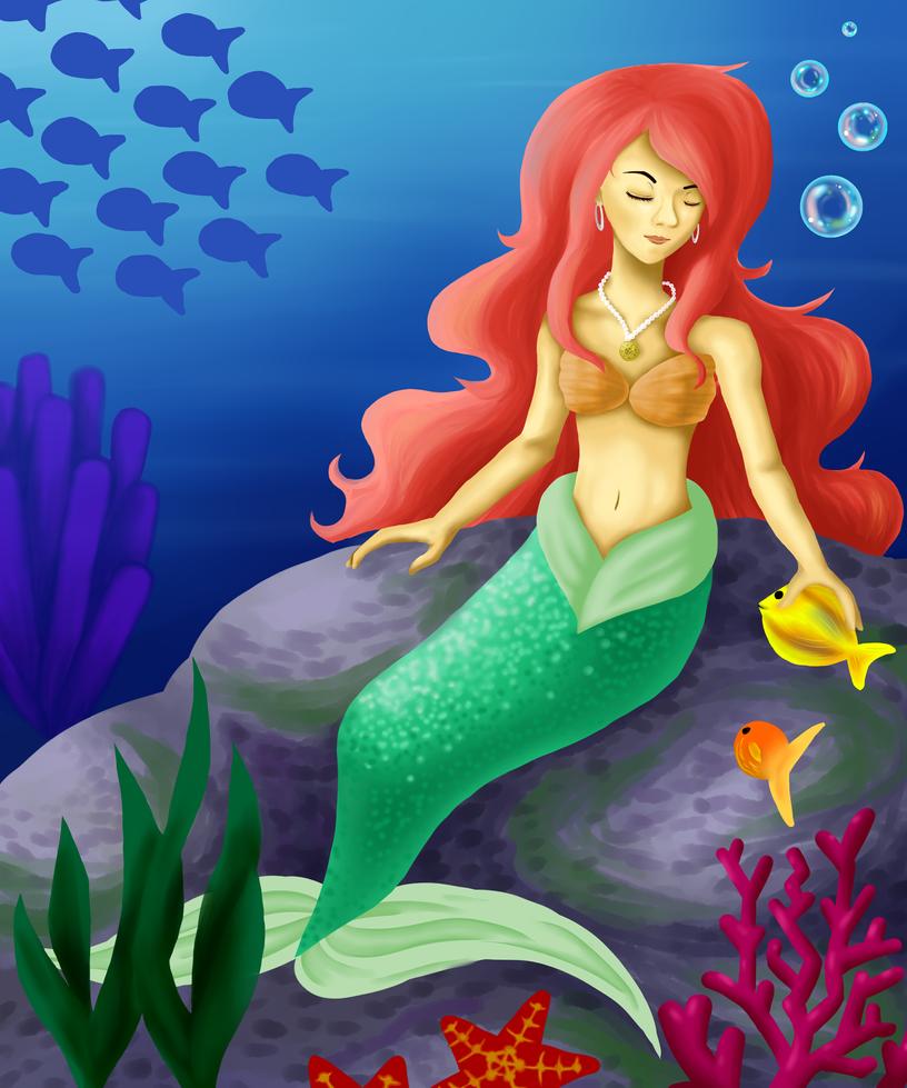 Mermaid by 7penguinprincess7
