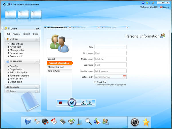 Wizard View WPF UI by tahans on DeviantArt