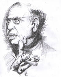 Sartre by tupinamba
