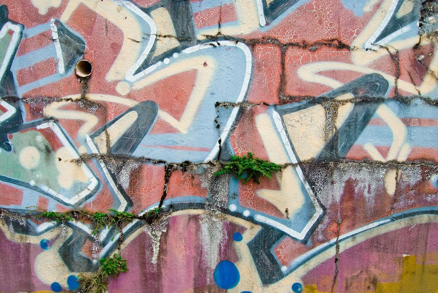 Graffiti Wall Texture by iartpixel