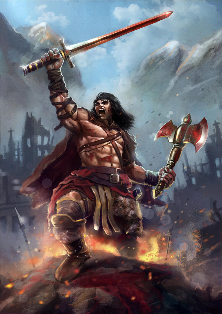 Conan The Barbarian Fan Art Contest By Largee D Ohfi besides Cowboy Family In Barn Picture Id S A besides Anc Priscilla Barnes additionally Barrescuef Web further E C A Fe C B Ad C D C D. on c a