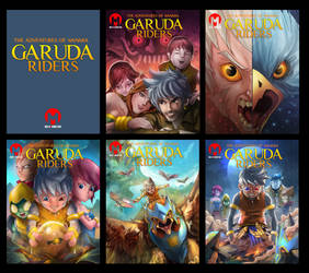 The Adventures of Wanara: Garuda Riders by largee17