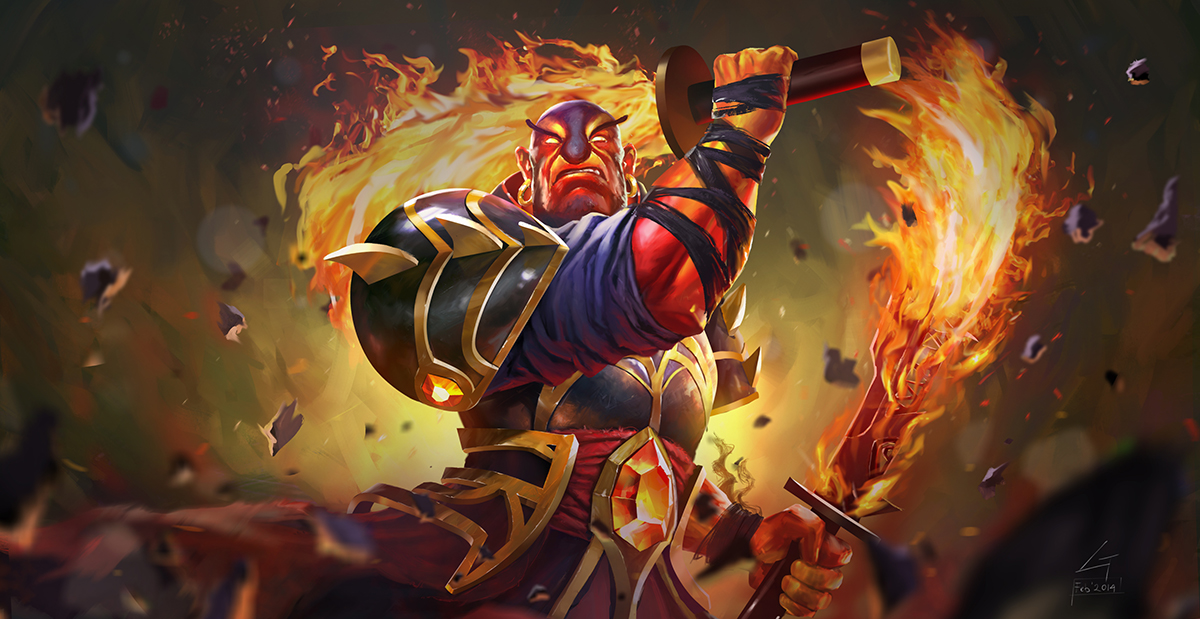 Gelar Ember spirit Dota 2 finish by largee17